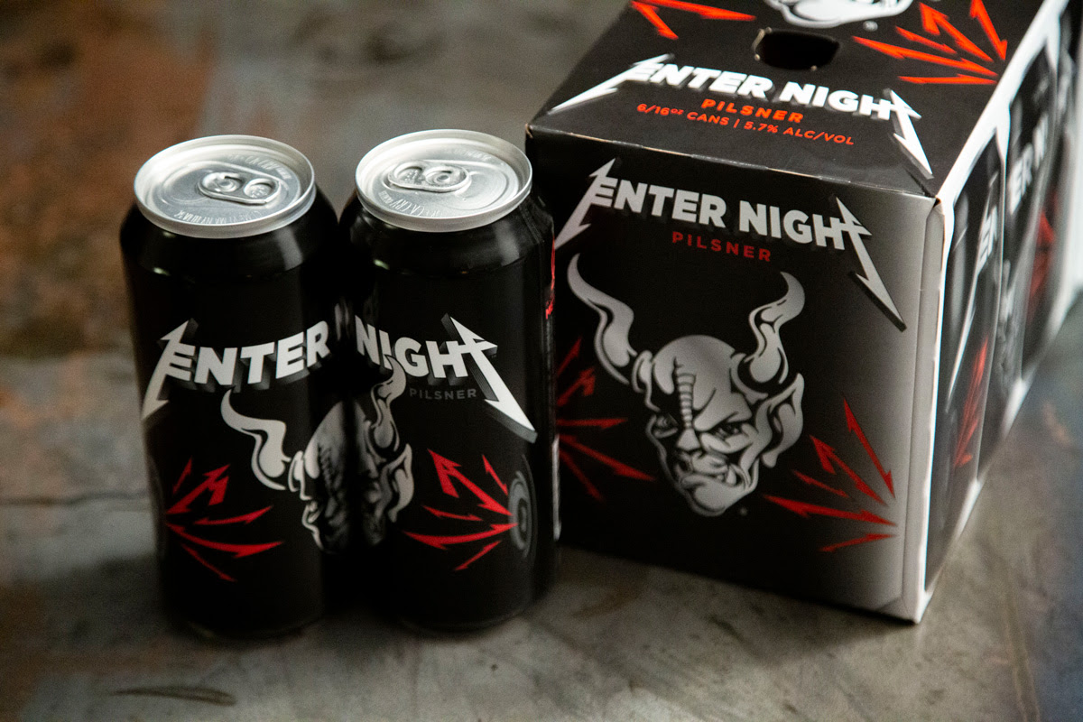 Merchandising original: La cerveza de Metallica